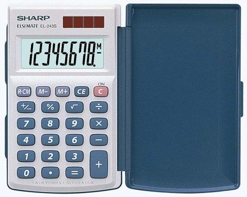 Sharp EL-243S Taschenrechner 8-stellig