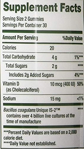Nature's Bounty® Probiotic Gummies, 120 Gummies by Nature's Bounty (Image #1)