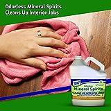 Klean Strip Green Odorless Mineral Spirits, Cleans