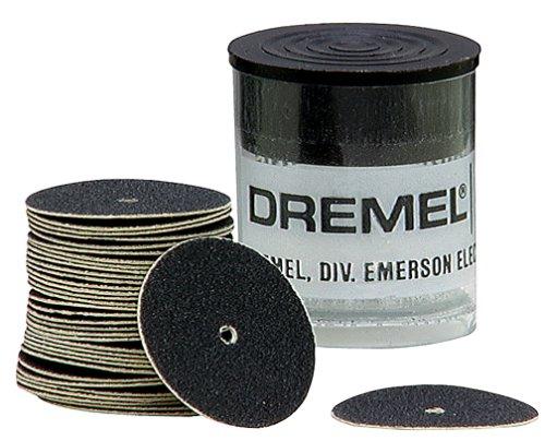 Fine Mandrel (Dremel 412 Sanding Discs, 220 Grit (36-Pack))