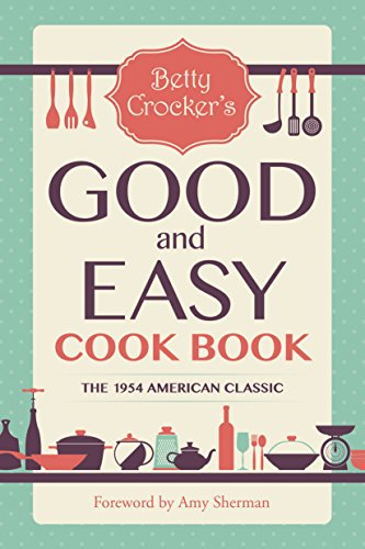 Betty Crocker's Good and Easy Cook Book cover