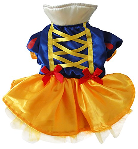 Woo Woo Pets New Arrival Snow White Christmas Pet Costume S