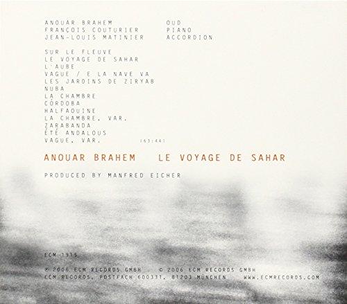 Le Voyage De Sahar by ECM (Image #1)