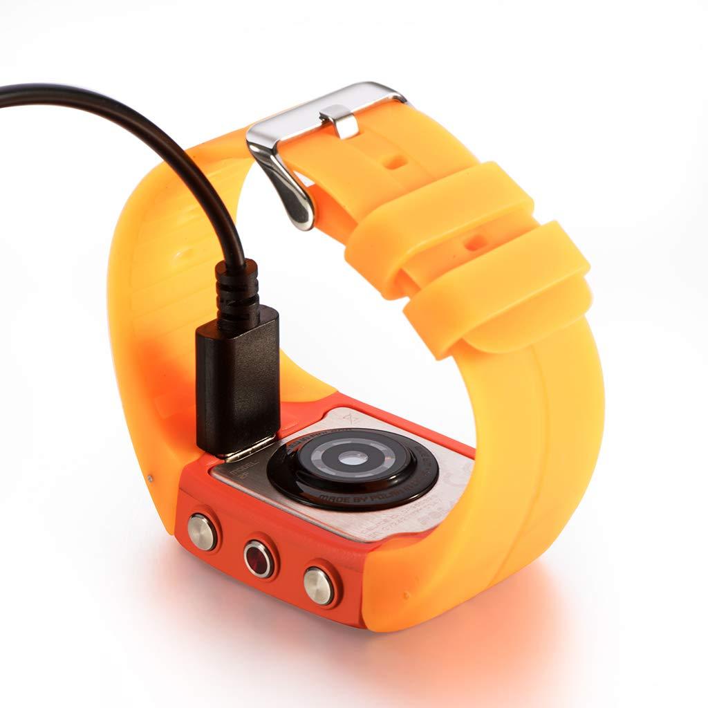 siwetg - Cable de Carga USB para Polar M430 Running Watch, 1 ...