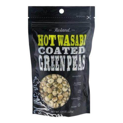 Roland Wasabi Peas Bag, 4.4 oz (Roland Wasabi)