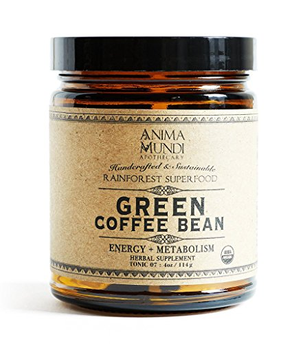 Anima Mundi Apothecary - Organic Green Coffee Bean Energizer + Fat Burner (4 oz)