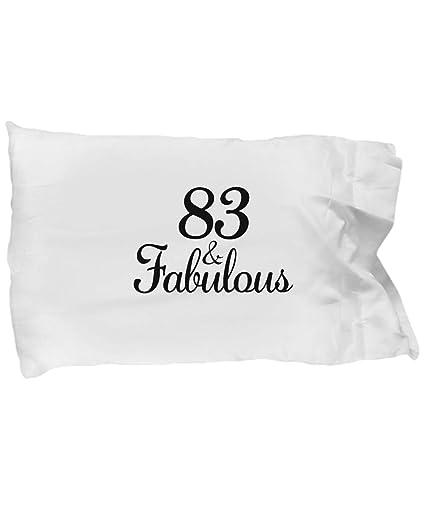 DesiDD 83rd Birthday Pillow Case