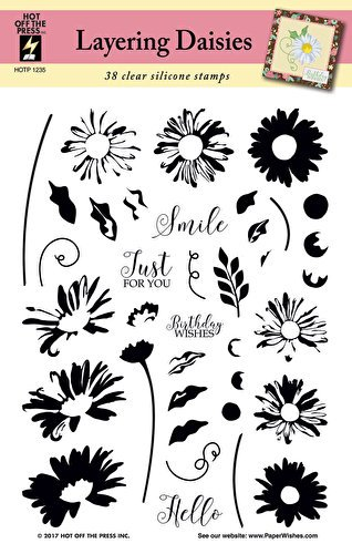 Image result for hot off the press layering daisies stamps