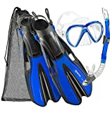 Mares Marlin Mask Fin Snorkel Set with Shoulder