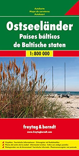 Baltic Sea States: FB.069 (Multi-country Mapping) (English, French and German Edition)