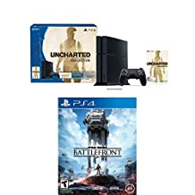 PlayStation 4 500GB Console - Uncharted: The Nathan Drake Collection Bundle with Star Wars Battlefront