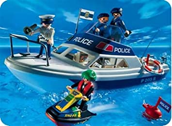 PLAYMOBIL® 3190 - Polizeiboot-Jet Ski