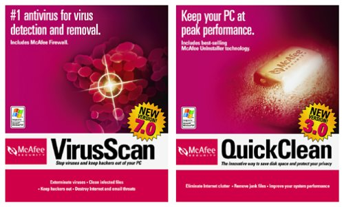 mcafee quickclean
