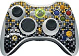 NBA Indiana Pacers Xbox 360 Wireless Controller Skin - Indiana Pacers Digi Vinyl Decal Skin For Your Xbox 360 Wireless Controller