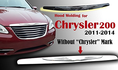 BUY N TRY Hood Moulding for Chrysler 200 with Modified Badge 05182602AB CH1235102