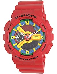 Casio Men's G-Shock GA110FC-1A Red Resin Quartz Watch