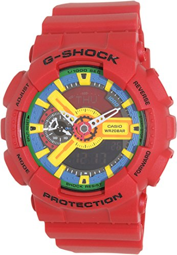 Casio G Shock GA 110FC 1ADR Blue Yellow