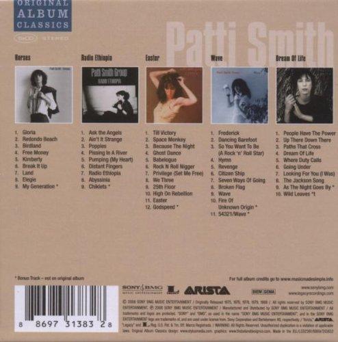 Berühmt Patti Smith - Patti Smith Original Album Classics - Amazon.com Music OQ75