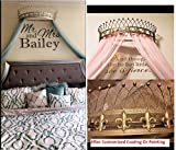 OctoRose Metal Wall Teester Bed Canopy Drapery