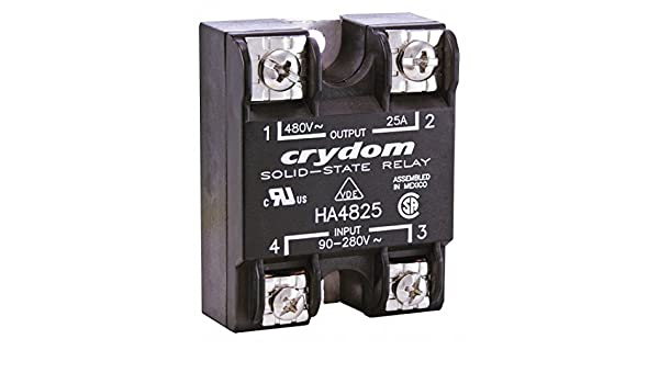 HA4825 New Crydom Solid State Relay 90~280VAC 25Amp.