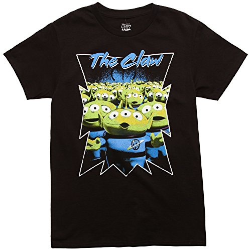 Toy Story The Claw Adult T-Shirt - Black (X-Large) ()