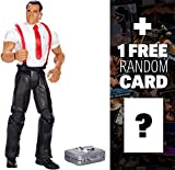 Irwin R. Schyster w/ Glass & Briefcase: WWE Elite Collection Action Figure Series + 1 FREE Official WWE Trading Card Bundle