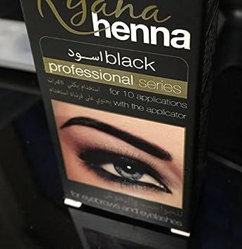 6531856a9 Henna Natural Eyebrow Eyelash Professional Color Tint Cream Kit,15-Minute  Fast Tint Brown