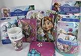 Disney Frozen Assorted Party Supplies Bundle of 10 items