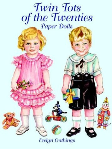 Twin Tots of the Twenties Paper Dolls (Evelyn Tote)