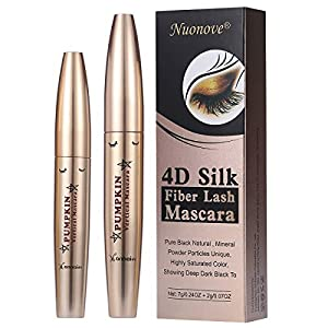 4D Silk Fiber Eyelash Mascara, 4D Mascara Fiber Eyelash Mascara, 4D Fibre Soie Mascara, Fiber De Soie Cils Noir Mascara…