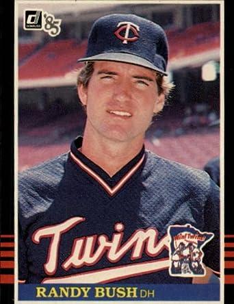 Amazoncom 1985 Donruss Baseball Card 633 Randy Bush Near