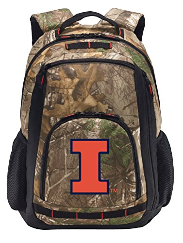Broad Bay Cotton University of Illinois Camo Backpack REA...