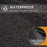 Favoto UTV Cover, Waterproof Oxford, 114 x 59 x