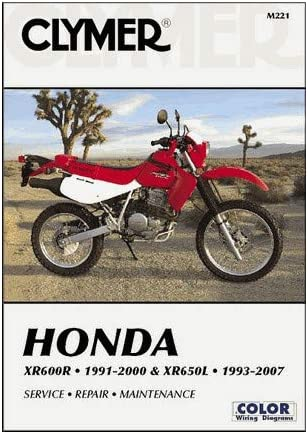 [DIAGRAM_1CA]  Amazon.com: Clymer Repair Manual for Honda XR600R 91-00 XR650L 93-07:  Automotive | 02 Xr 650 Wiring Diagram |  | Amazon.com