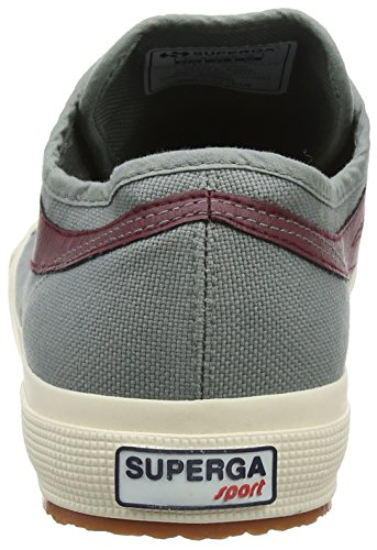 Cotu Superga Grey grey scarlet Sage Unisex Panatta Trainers 2750 Adults' qSwRr6nxSt
