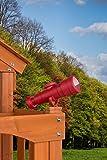 Creative Cedar Designs Playset Telescope Accessory- Red, One Size