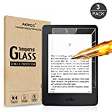 (3-Pack) Tempered Glass Screen Protector for Kindle Paperwhite, Akwox [0.3mm 2.5D 9H ]