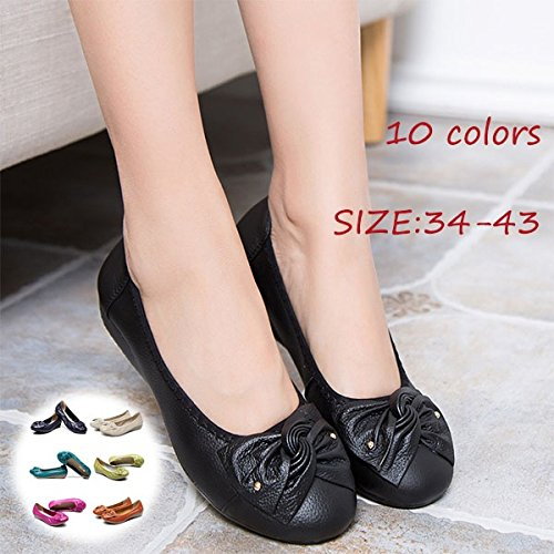 Casual New Music Shoes Shoes Fashion Ladies Flat Comfortable Yellow daRzRf6n