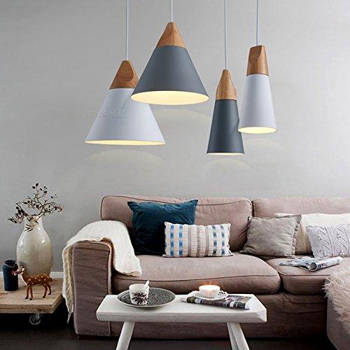 Calistouk ceiling pendant lights lamp e27 hanging lamp for Living room hanging lights