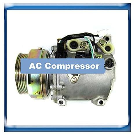 GOWE compresor para msc105 C Compresor De Aire Acondicionado para MITSUBISHI Magna akc200 a551d: Amazon.es: Bricolaje y herramientas