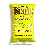 kettle chip pepperoncini - Kettle Pepperoncini Potato Chips 8.5 oz each (3 Items Per Order)