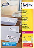 Avery L7160-100 Address/Mailing Labels, Self Adhesive, 21 labels per A4 Sheet