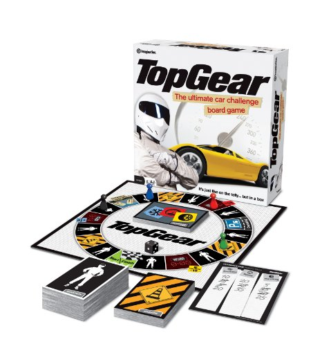 Top Gear Board Game - Ultimate Car Challenge