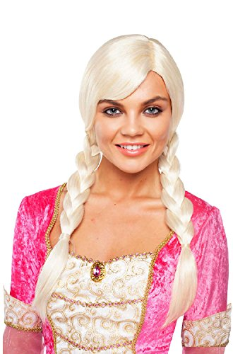 Goddessey Brown Double Braided Wig Adult (Brown Braided Wig)