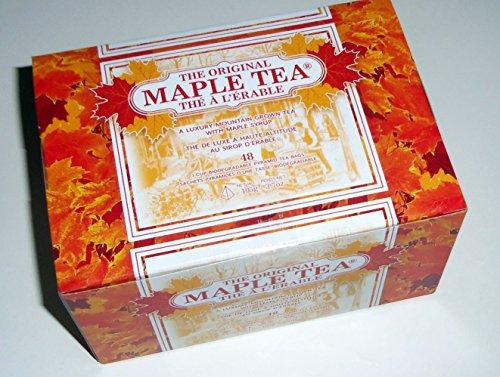 Metropolitan Tea Company Maple Black Tea Pyramid Bags 48 Per Carton (Ceylon Teas Tea Blended)