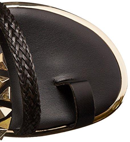 Sandalo Gladiatore Da Donna Fergie Nero