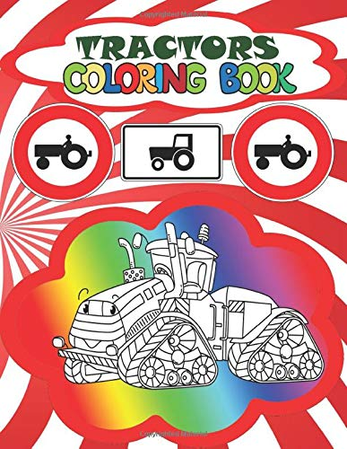 - Сoloring book Tractors