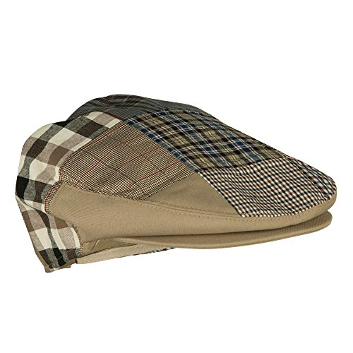 Jeanne Simmons Men s Patchwork Design Ivy Cap - Camel OSFM at Amazon Men s  Clothing store  b9a6f9aac589