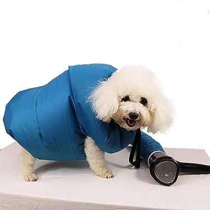 DJLOOKK Secador para Mascotas, Bolsa de Secado para Mascotas, Que Hace Que el baño