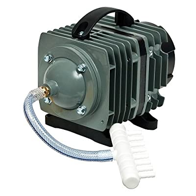 O2 Commercial Pump, 1268 gph 5.37psi. Aquarium,Hydroponics,Pond pump